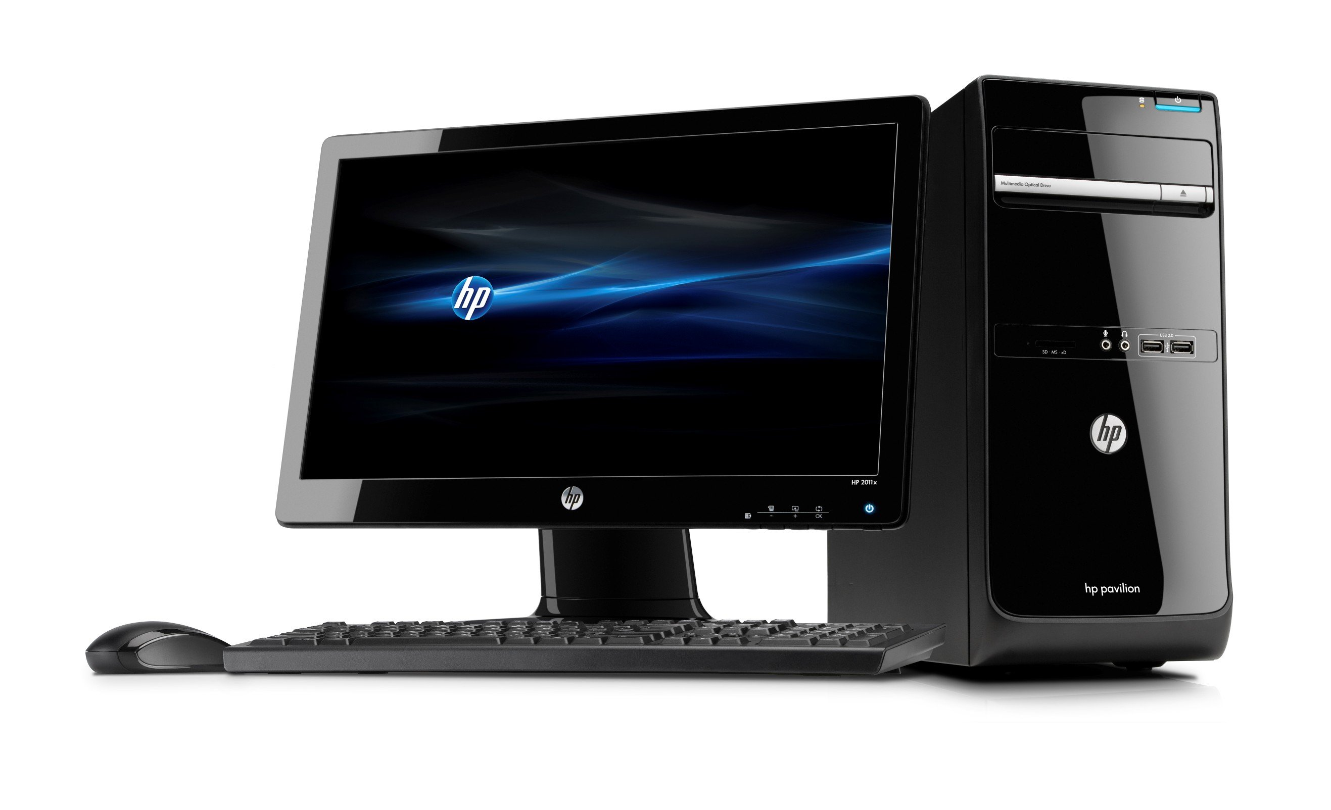 HP P6-2005ukm G620 Desktop PC with 20 inch LED LCD: Amazon ...