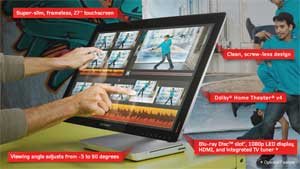 The Lenovo IdeaCentre A720 is packed full of great features