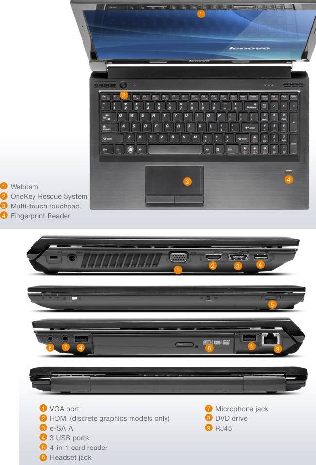 Lenovo B570 15.6 inch Laptop (Intel Pentium B940 2.0GHz, RAM 4GB ...