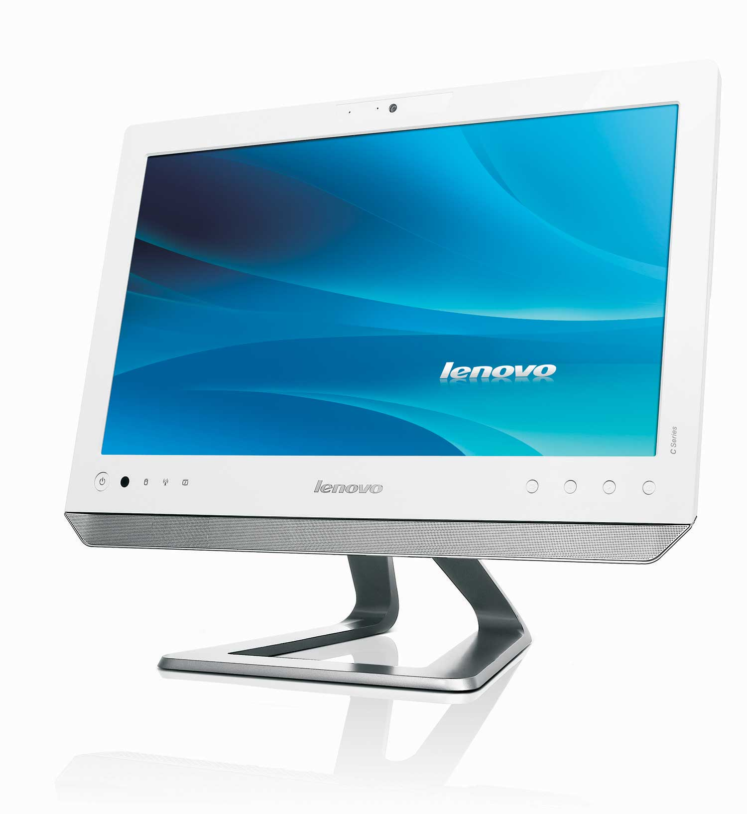 lenovo c325 20 inch multi touch all in one desktop pc. Black Bedroom Furniture Sets. Home Design Ideas