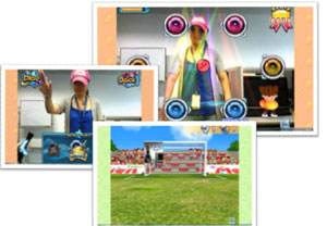 Camera Fun Zone lets you play games by simply moving your hands