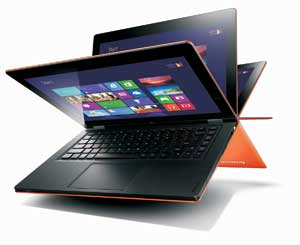 Combining the benefits of an laptop and a tablet, the Lenovo IdeaPad Yoga 13 is the world's first multi-mode Ultrabook.