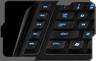 Five additional gaming macro keys