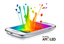 "4.0"" Super AMOLED display"