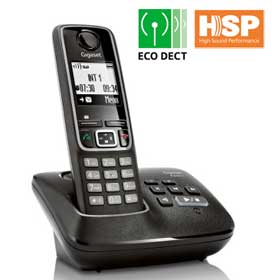 The ECO DECT Gigaset A420A with 25-minute answering machine.