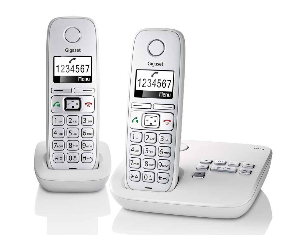 gigaset e310a twin dect cordless phone with answer amazon co uk rh amazon co uk