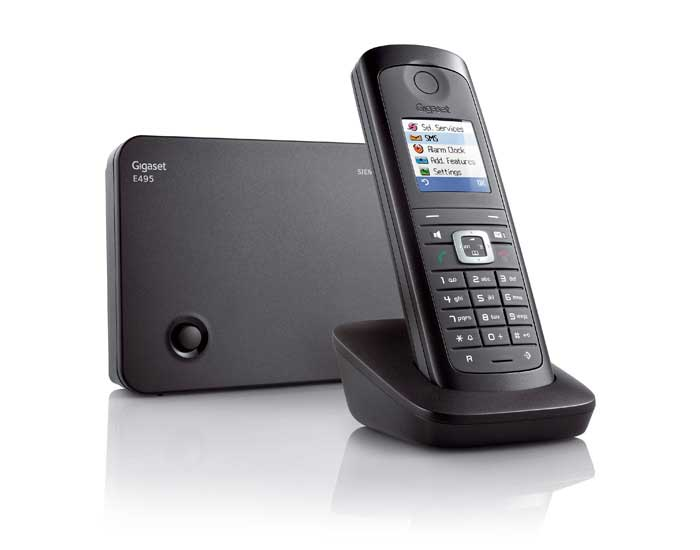 Gigaset E495 Robust DECT Cordless Phone with Answer ...