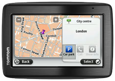 Parking Assist lets you see nearby parking garages as you get close to your destination.