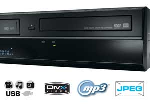 The Toshiba DVR20 doesn't just play DVDs and VHS - you'll also be able to enjoy MP3 music and JPEG photos