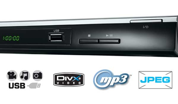 Toshiba sd2010 dvd player with usb tv for Div player