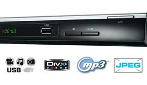 The Toshiba SD2010 doesn't just play DVDs - you'll also be able to enjoy DivX movies, MP3 music and JPEG photos via USB