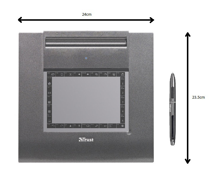 TRUST SLIMLINE GRAPHIC TABLET DESCARGAR DRIVER