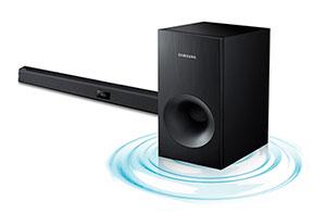 Enjoy superb powerful sound