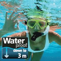 The new Panasonic HX-WA10 is waterproof to depths up to 3 metres