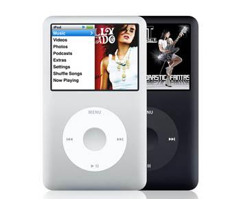 apple ipod classic 80gb silver audio hifi. Black Bedroom Furniture Sets. Home Design Ideas