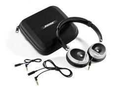 bose on ear headphones. they will play your music with astounding range and clarity for headphones of their size. enjoy hours listening pleasure thanks to light, padded ear cups bose on
