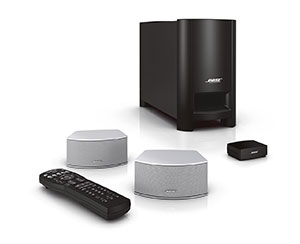 new bose cinemate gs series ii home theater system silver. Black Bedroom Furniture Sets. Home Design Ideas