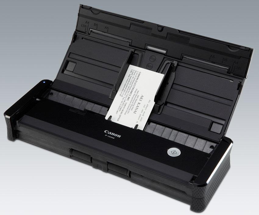 Canon imageFORMULA P-150 High Speed Portable Document Scanner ...