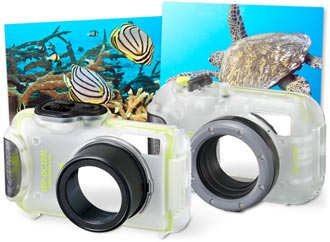 WP-DC320L and WP-DC41 waterproof cases