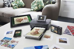 Wi-Fi connectivity allows easy printing