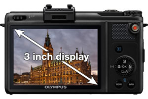 B004G8QSTO - Olympus XZ-1 with 3 inch OLED display