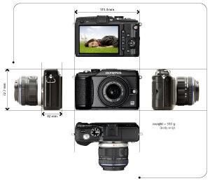 Olympus E-PL2 Compact System Camera - Red: Amazon co uk: Camera & Photo