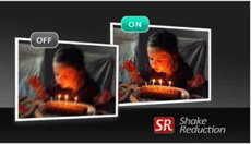 Dual shake reduction for sharp, blur-free images