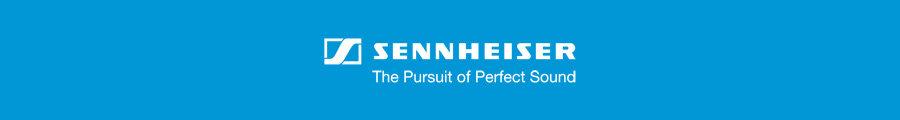 Sennheiser Headphones Banner