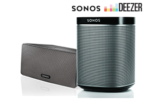 Sonos: One Year of Music Included - Deezer