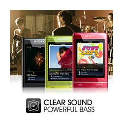 Clear sound and powerful bass.