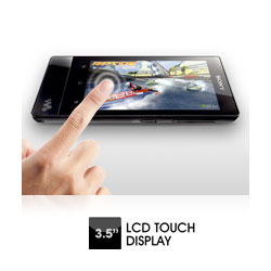 Crystal Clear Multi-touch screen.