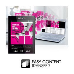 Easy Content Transfer with Drag 'n' Drop.