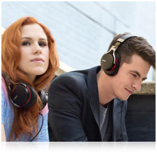 Built with Sound Precision in mind by Sony Engineers and SME music artists Katy B and Magnetic Man.