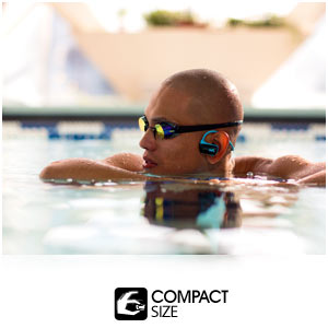 Soundtrack your next workout with the wearable, waterproof Walkman NWZ-W273 MP3 player.