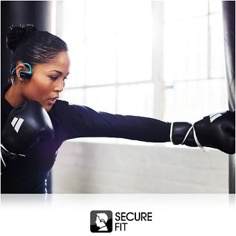 Workout with a secure fit.