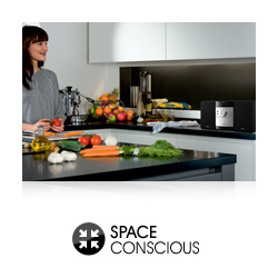 Space conscious design fits perfectly in small spaces