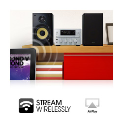 Simple streaming of your iTunes library via built in Apple Airplay