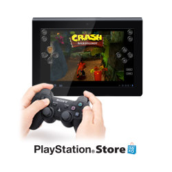 Download & play PlayStation Certified titles on a tablet for the first time. Console quality gaming anywhere, anytime.