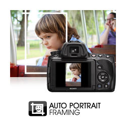 """Auto Portrait Framing: uses face detection and the compositional """"rule of thirds"""
