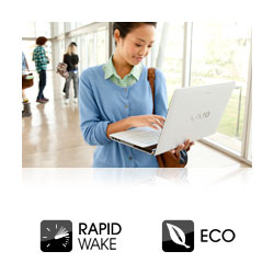 Rapid Wake ensures you're ready for action in moments.