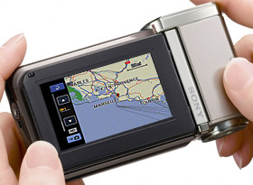 See the exact location of your clips and still images with GPS mapping
