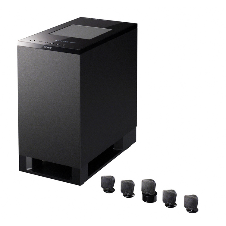 sony ht is100 5 1 ch home cinema upgrade kit black. Black Bedroom Furniture Sets. Home Design Ideas