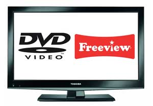Freeview or DVDs, the choice is yours