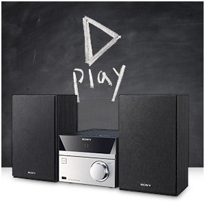 Compact system for all your music