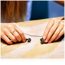 Tangle-free cord