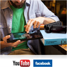 Sharing videos online with friends and family couldn't be simpler.