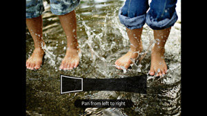 Sony Xperia P smartphone camera feature