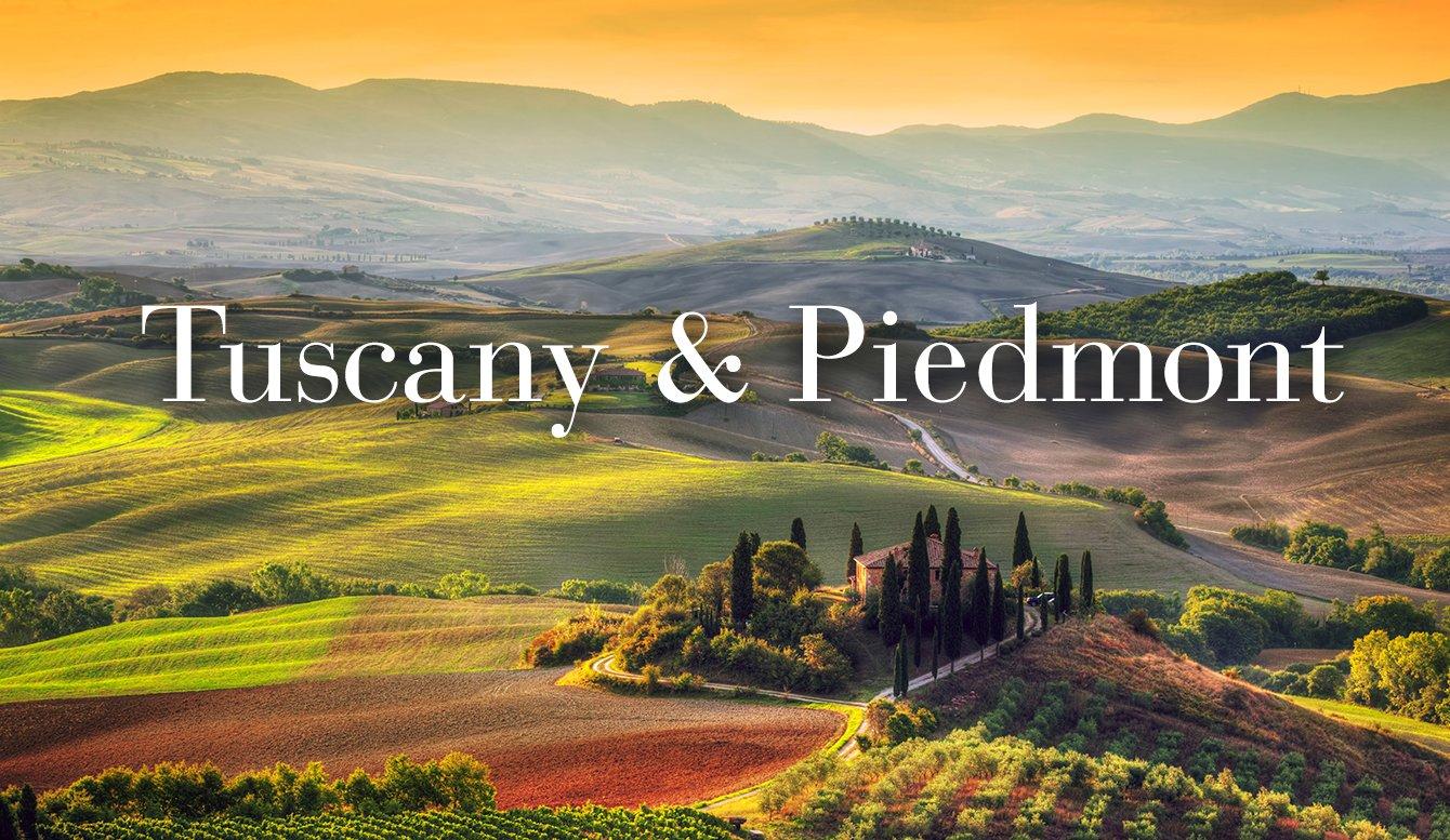 Tuscany & Piedmont