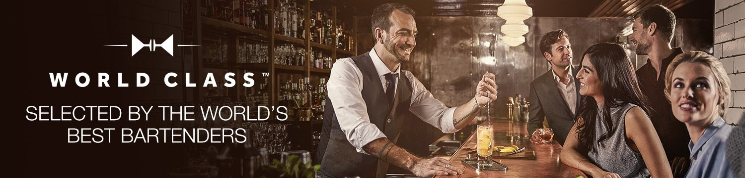 Selected by the World's best bartenders