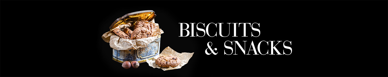 luxury biscuits and snacks